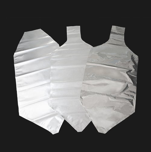 Aluminum liner bag can be used with vacuuming equipment and octagonal cardboard boxes for engineering plastics, NYLON, TPU, biodegradable plastic materials.